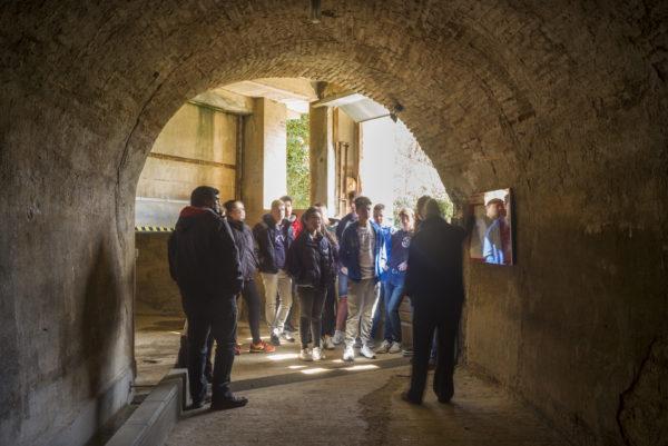 Soterrani Museu Colònia Sedó