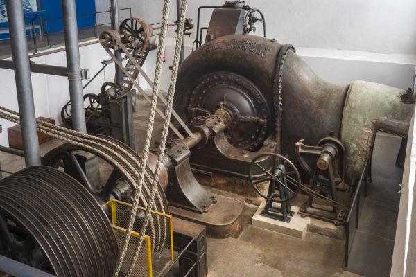Turbina Museu Colònia Sedó