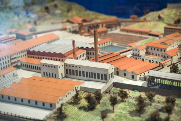 Maqueta Museu Colònia Sedó