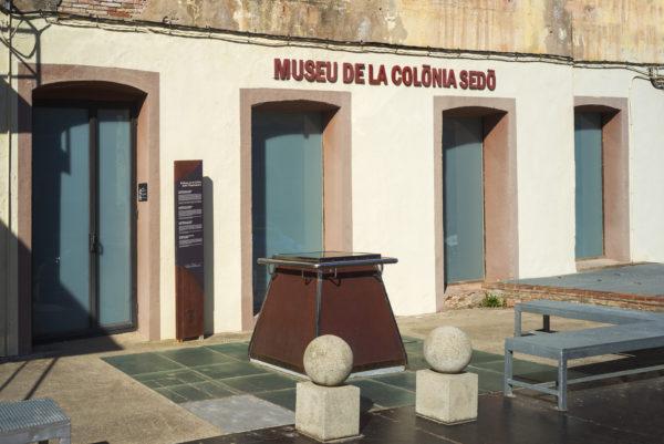 Façana Museu Colònia Sedó